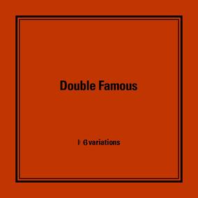 「ダブルフェイマス」の世界観を堪能できる、新作『6 variations』リリース・パーティー