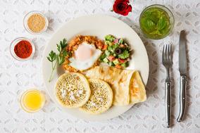 9月からスタート! カフェレストラン「WORLD BREAKFAST ALLDAY」のモロッコの朝ごはん