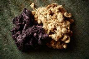 紡ぎ、染め、織りの技術を体験する、結工房の「絹でマフラーを織る」ワークショップ