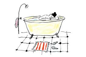 芯から温まる 冷えとり入浴のすすめ