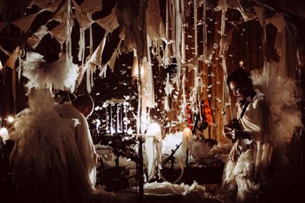 音と布と光のサーカス 『仕立て屋のサーカス -circo de sastre-』が九州と金沢にて公演