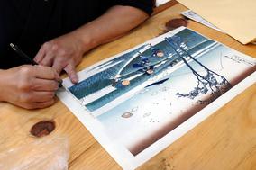 アメリカへ伝える、日本の伝統美術<br>浮世絵ワークショップ[前編]