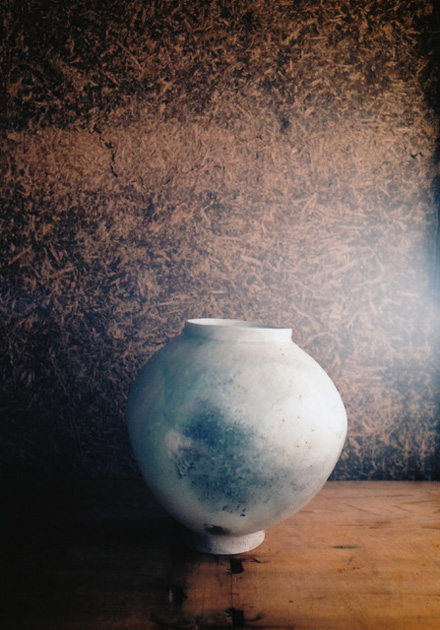 作陶家、田中茂雄さんによる「翡翠のかしはて」展が「センター・フォー・コズミック ワンダー」にて開催